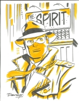 The Spirit (2009) Comic Art