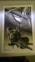 Rorschach by JK Woodward - LSCC 2015 Comic Art