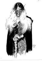 DS26092015 Rebecca Thompson (Inked) #inktober day 2 Comic Art