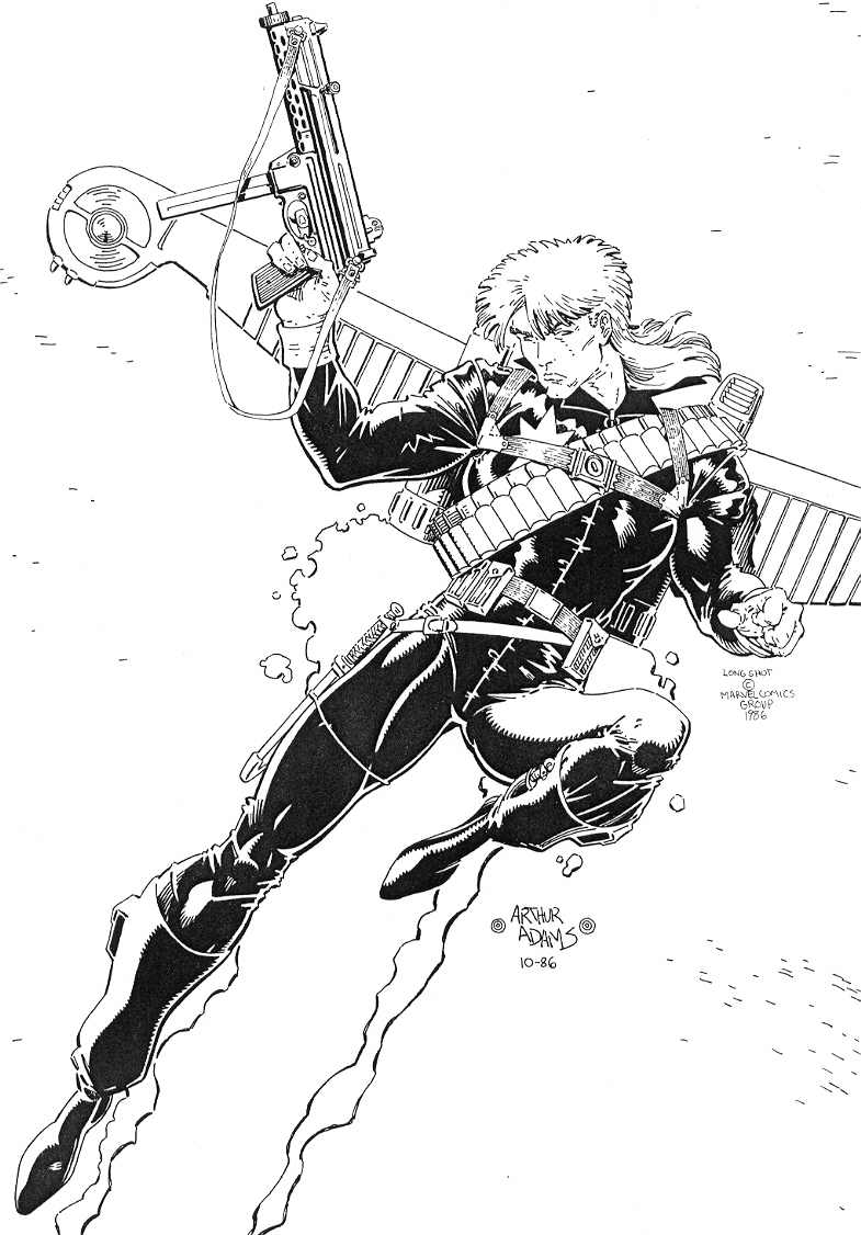 LONGSHOT Comic Art