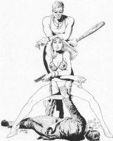 Gulacy Bodyguard #1 cover Comic Art