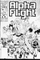 Mignola AF #39 cover Comic Art