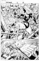 She-Hulk #11, p. 17 - Paul Pelletier Comic Art