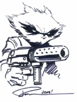 Paul Pelletier - Rocket Raccoon Comic Art
