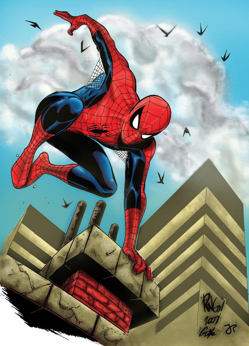 Spider-Man - Mike Wieringo, Guile & John-Paul Bove Comic Art