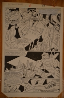 Transformers Marvel G1 Issue 6 Pg 29 Comic Art