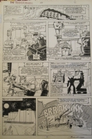 Transformers Marvel G1 Issue 24 Pg 5 Comic Art