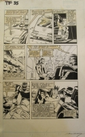 Transformers Marvel G1 Issue 35 Pg 4 Comic Art
