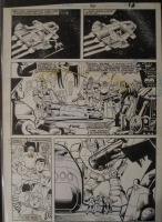 Transformers Marvel G1 Issue 36 Pg 8 Comic Art