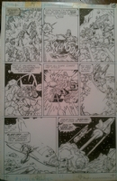 Transformers Marvel G1 Issue 43 Pg 29 Comic Art