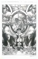 Blood Queen vs Dracula #3 by Jay Anacleto Comic Art