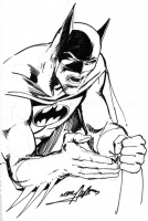 Neal Adams Batman sketch 1979 Comic Art