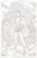 Cousin Boy (Legion) Comic Art