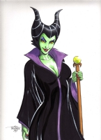 SCOTT DALRYMPLE MALEFICENT Comic Art