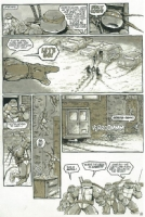 TMNT (Vol. 1) #14 Pg. 16 Comic Art