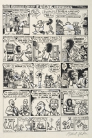 Fabulous Furry Freak Brothers -6 Comic Art