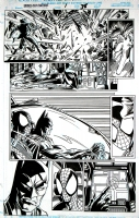 Spiderman and Batman together Marvel DC Crossover Comic Art