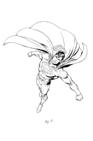 Superman style guide Comic Art