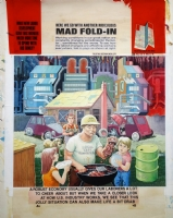Fold-In Comic Art