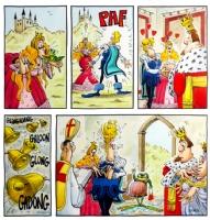 Frog Prince Comic Art