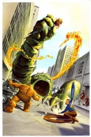 Fantastic Four #1, Comic Art
