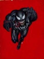 Venom Poster Comic Art