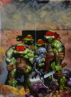 TMNT cover 2 Comic Art