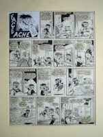 Face Ache (Original) Comic Art