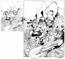 Galactus & friends Comic Art
