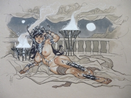 Dejah Thoris by Adam Hughes Comic Art