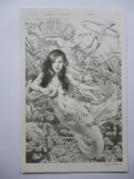 Damsels:Little Mermaid #1 Comic Art