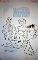 World of Archie Digest #53 Cover, Comic Art