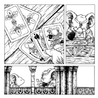 Mouse Guard FCBD pg. 2, Comic Art