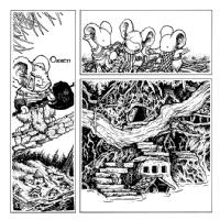 Mouse Guard FCBD pg. 3, Comic Art