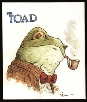 Mr. Toad, Comic Art