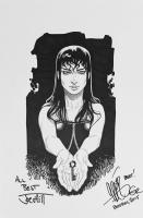 Dodge & Omega Key, Comic Art