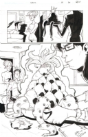Chew #38 pg. 20, Comic Art