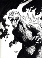 Godzilla by Scott Dalrymple Comic Art