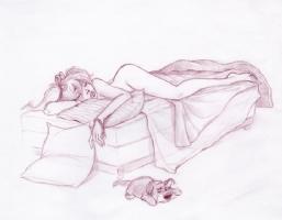 Mandy Dreams 3 Comic Art
