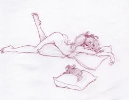 Mandy Dreams 1 Comic Art
