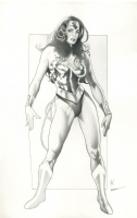 Jason Eden Wonder Woman Comic Art