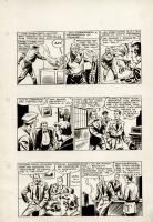 Franco Donatelli - La Pattuglia Senza Paura, storie nn. 23, 24, 25 - p. 5 Comic Art