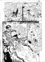 Punisher War Zone #21 Page 16 Comic Art