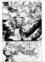 Punisher War Zone #21 Page 18 Comic Art