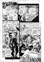 Punisher War Zone #21 Page 2 Comic Art