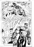 Punisher War Zone #21 Page 22 Comic Art