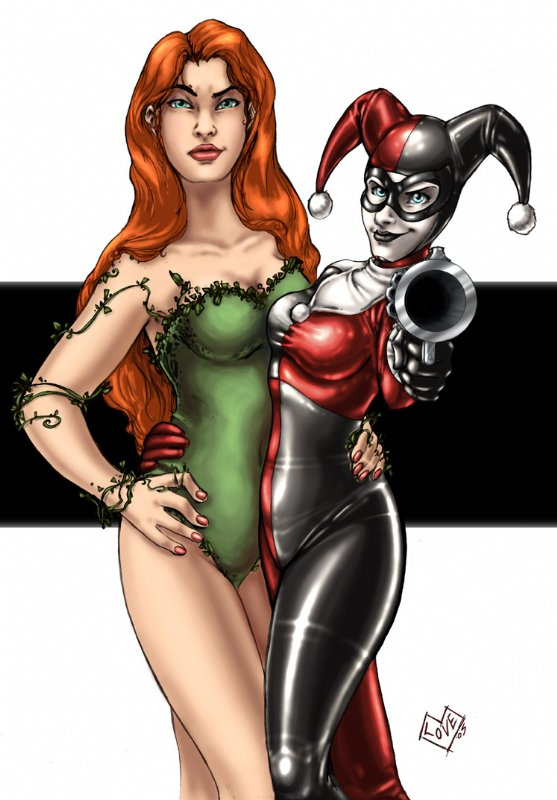 systemic poison ivy pictures. harley quinn and poison ivy