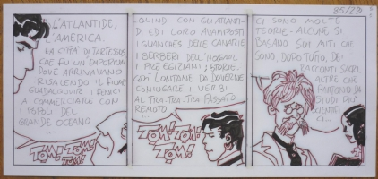 Hugo Pratt -Corto Maltese - Strip de Mu Comic Art