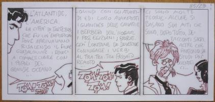 Hugo Pratt -Corto Maltese - Strip de Mu Comic Art