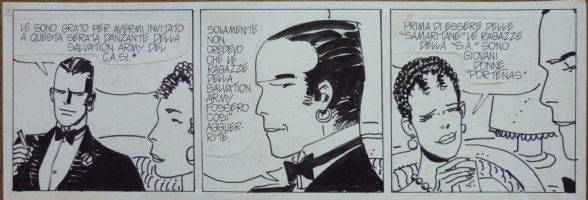 Hugo PRATT - Corto Maltese - Strip Tango Comic Art